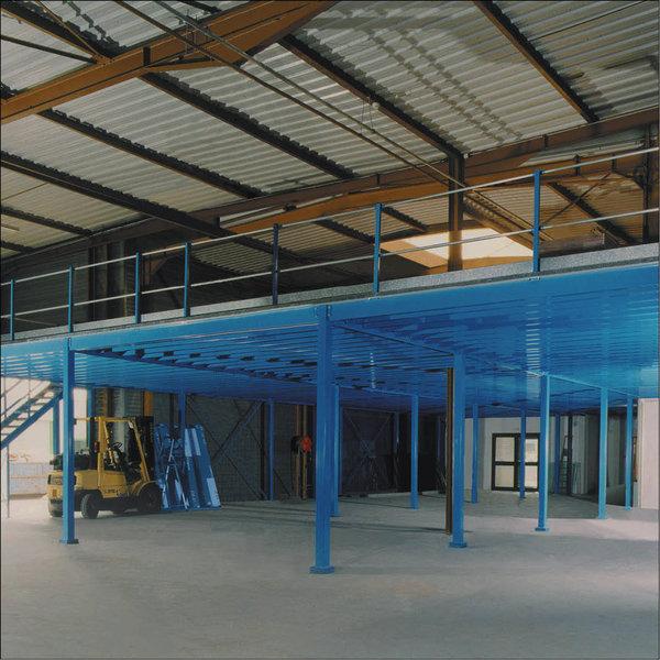 system lagerb hne 350 kg pro m2 14 6 m x 5 1 m stabilit t. Black Bedroom Furniture Sets. Home Design Ideas