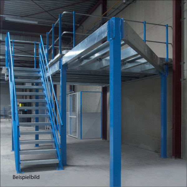 lagerb hne 500 kg pro m2 gr e 8 4 m x 5 1 m lagertechnik. Black Bedroom Furniture Sets. Home Design Ideas