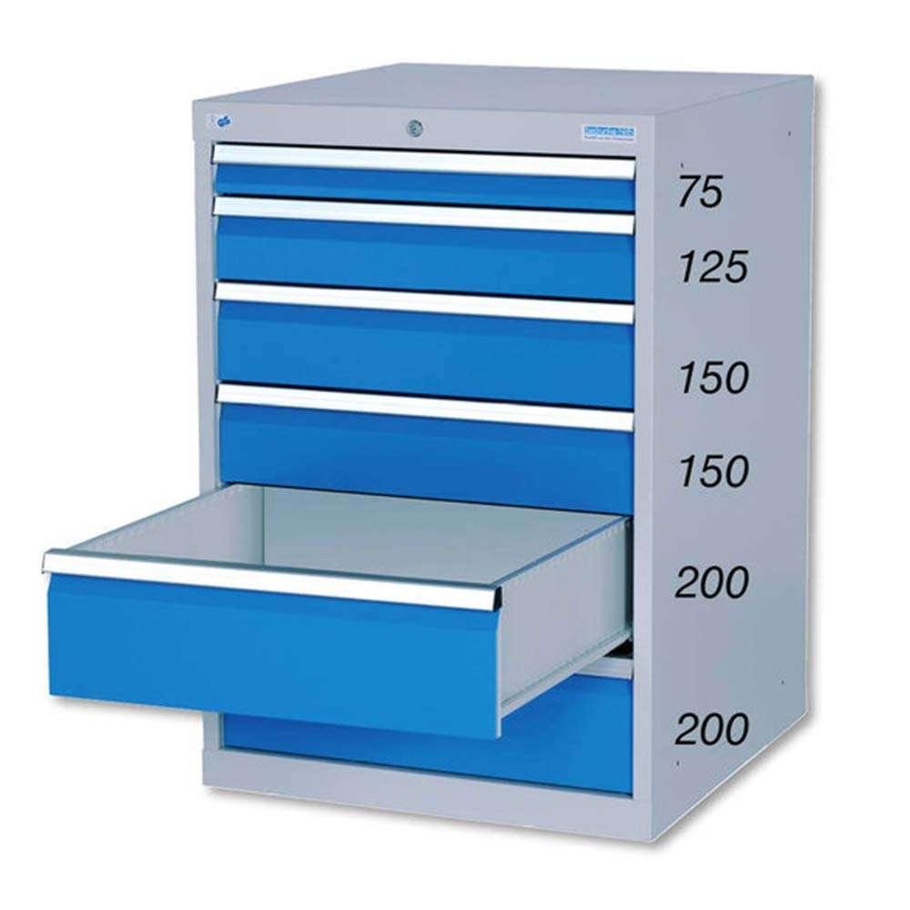 Schubladenschrank 705 x 736 x 1.019 b/t/h - Lagertechnik Qualität