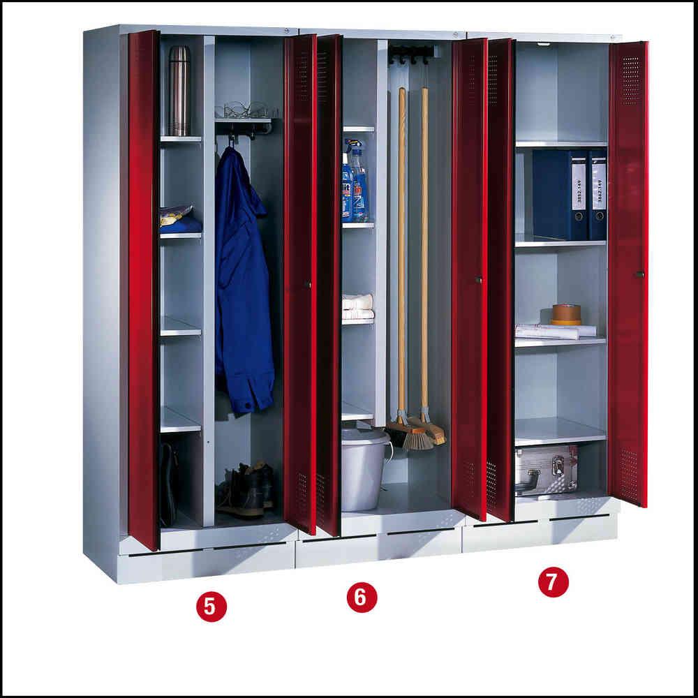 Mehrzweckschränke Wäsche - Aufbewahrungsschrank -Lagertechnik