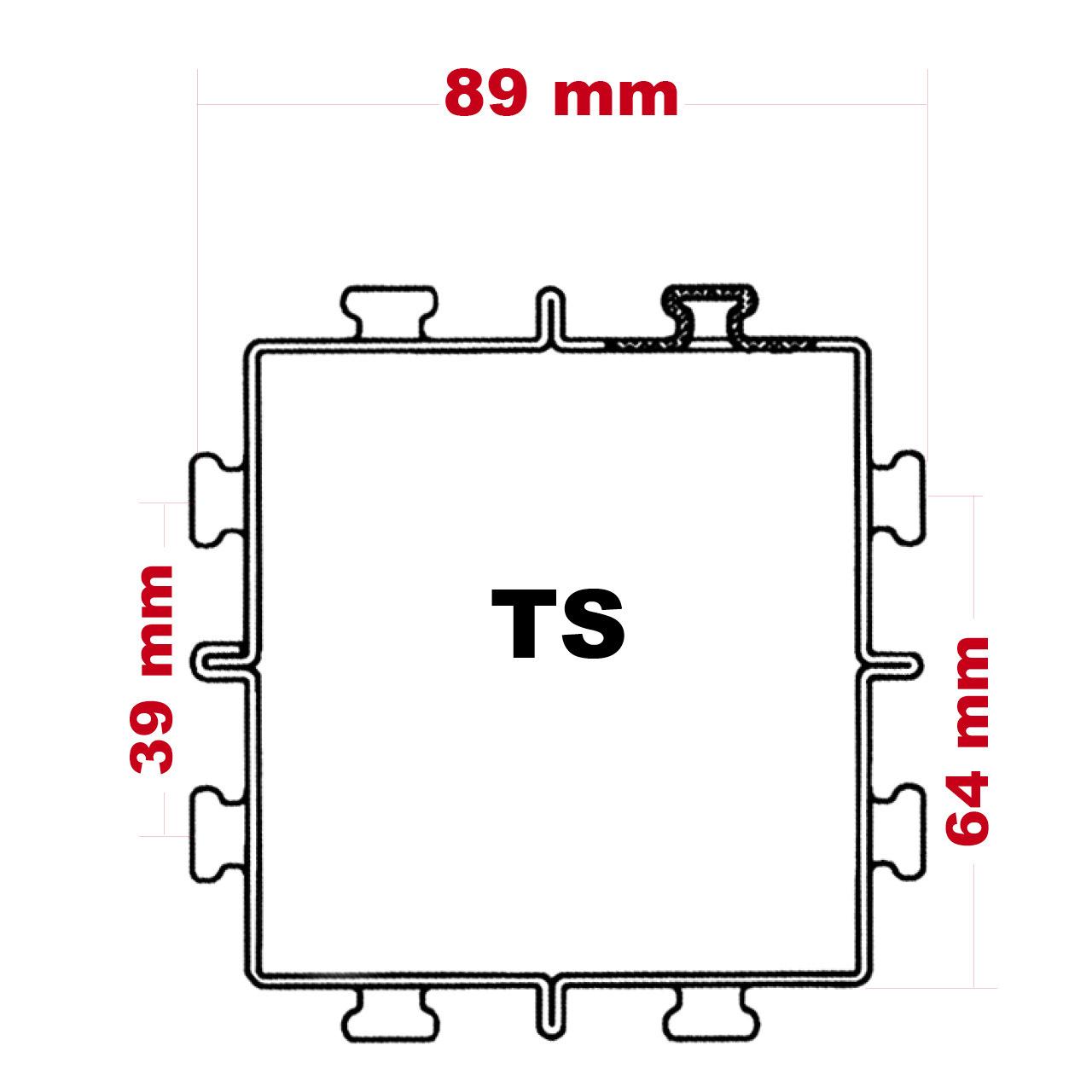 Weitspannregalrahmen TS 4 - Besonders ist unser Standard !